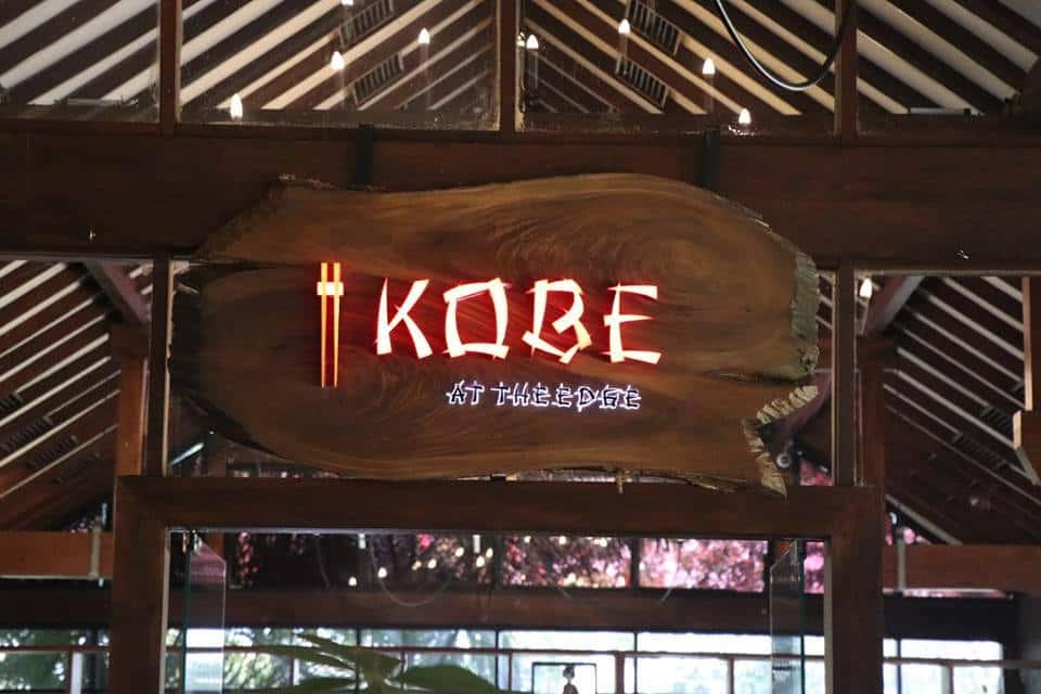 Kobe at the Edge Logo