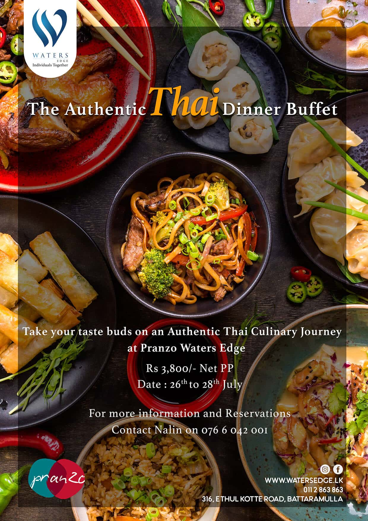 The Authentic Thai Dinner Buffet