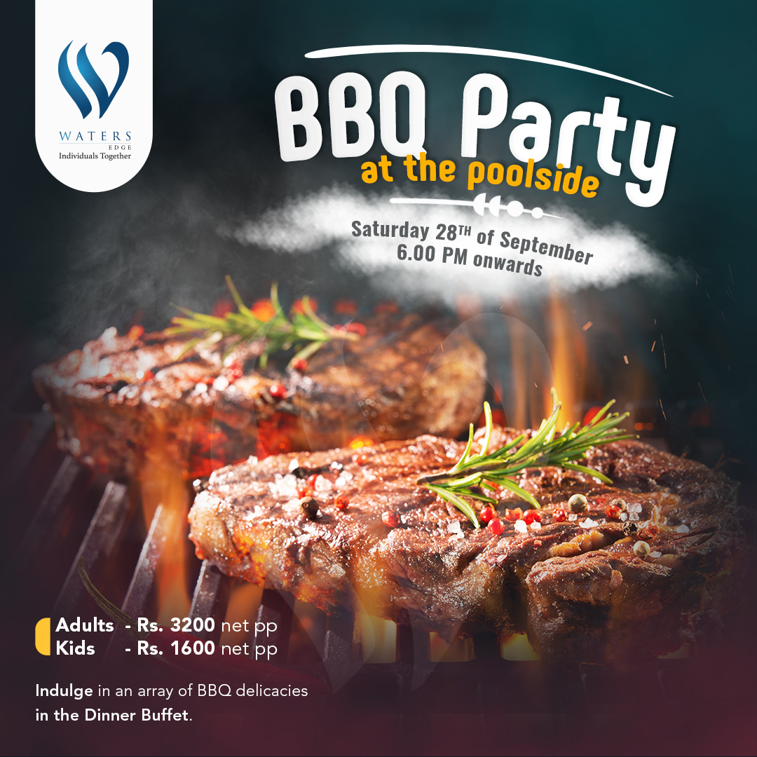 BBQ Party at Poolside