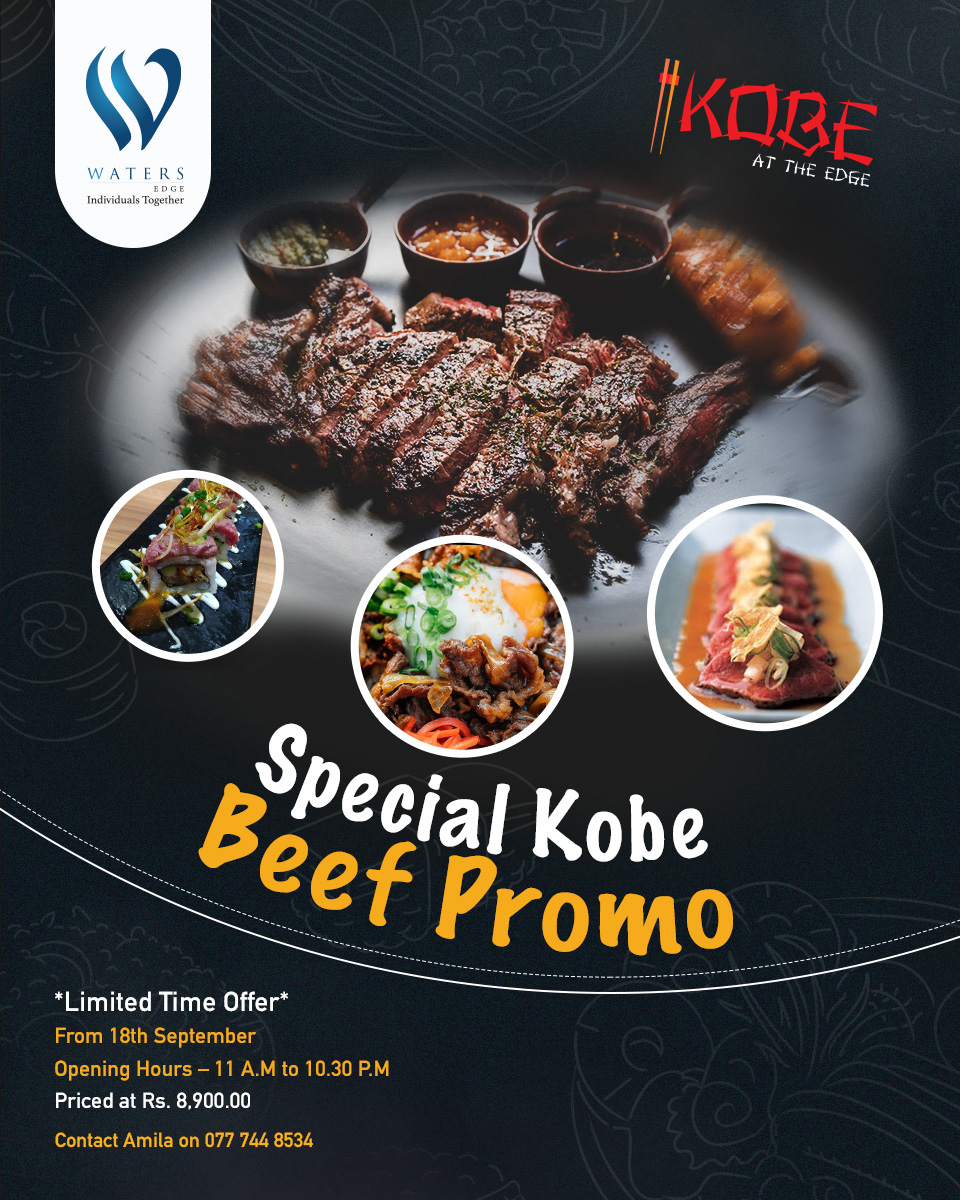 Special Kobe Beef promo